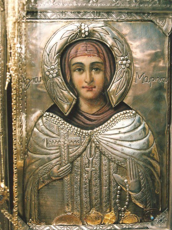 Το προσκύνημα της Αγίας Μαρίνας στο Μαΐστρο της Αλεξανδρούπολης 1