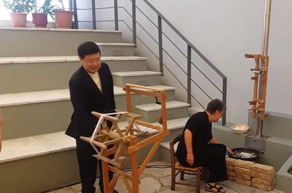 Ο Κινέζος Πρέσβης στο Σουφλί