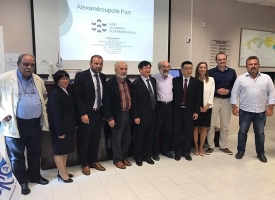 Συνεργασία λιμανιών Αλεξανδρούπολης και Γκουαντζού