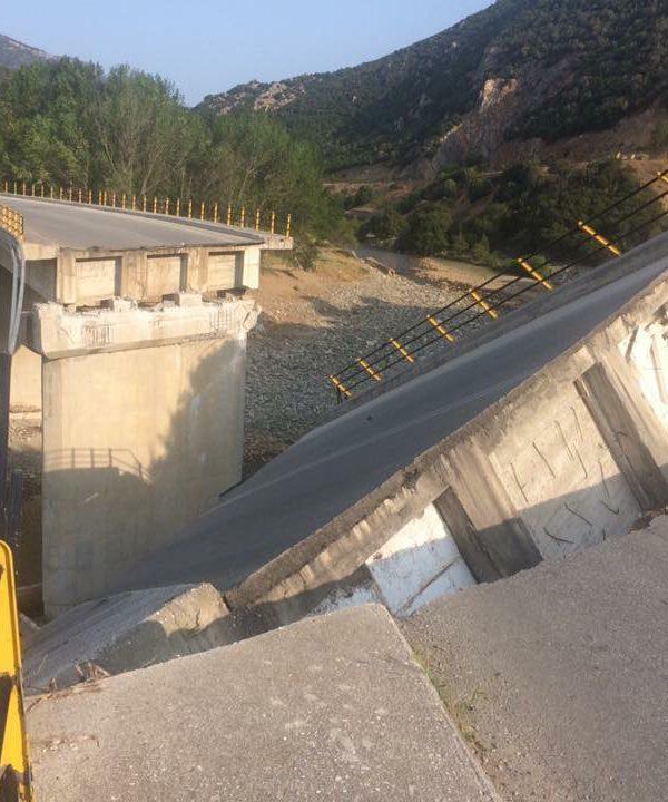 Κατέρρευσε  η  γέφυρα του ποταμού Κόσυνθου στη Ροδόπη – Πολλά τα ερωτηματικά 4