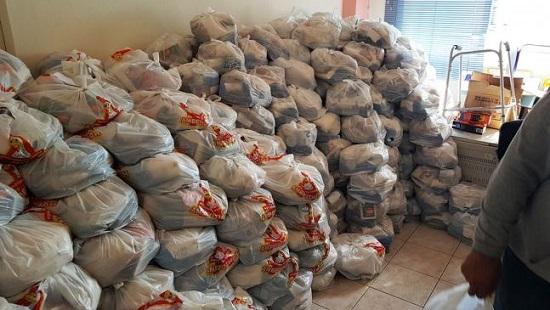Νέα διανομή τροφίμων μέσω του προγράμματος ΤΕΒΑ στη Ροδόπη
