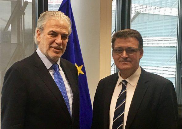 Συνάντηση του Αντιπεριφερειάρχη Έβρου με τον Επίτροπο της Ε.Ε. για τη Σαμοθράκη