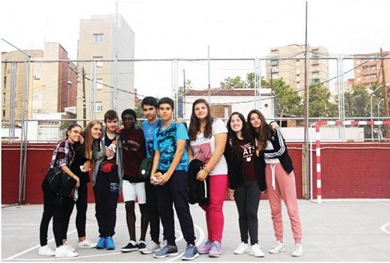 """Κομοτηνή - Ισπανία """"ενώθηκαν"""" μέσα από εκδρομή του 4ου Γυμνασίου Κομοτηνής 1"""