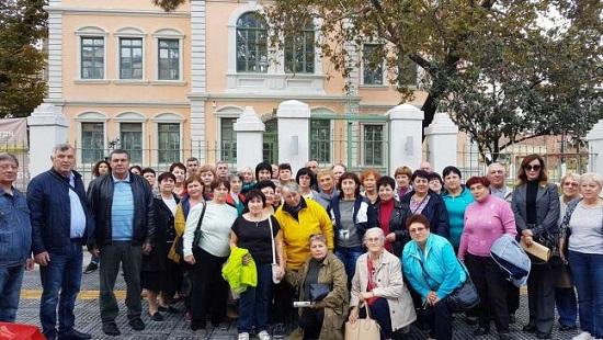 Ξεκίνησε η επίσκεψη 51 ομογενών τρίτης ηλικίας από την Ουκρανία στην Κομοτηνή